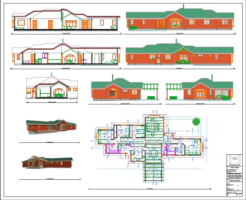 Planos de casa - Planos de casas pareadas ...