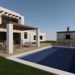 Casa Mediterranea en Lago Rapel | Proyecto de Arquitectura de Casa Moderna